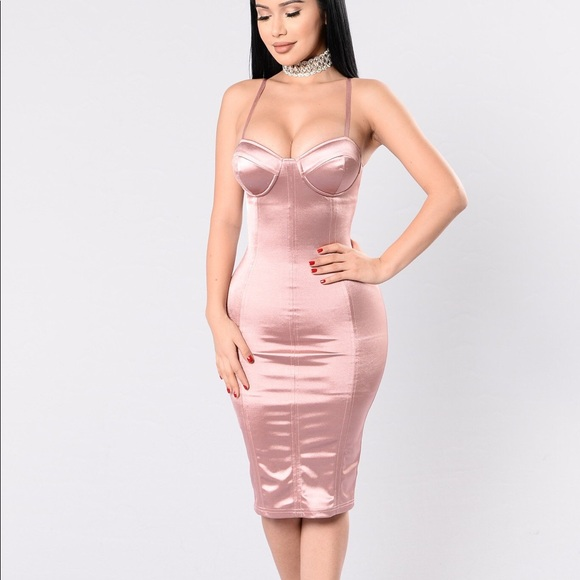 7d18aac00 Fashion Nova Dresses   Skirts - Stupid In Love Dress- Mauve Fashion Nova